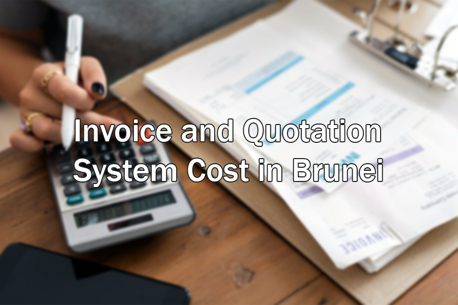 invoiving and quote system in brunei